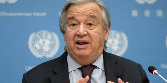 World Has Never Been More Threatened Or Divided, We Must Wake Up: UN Chief