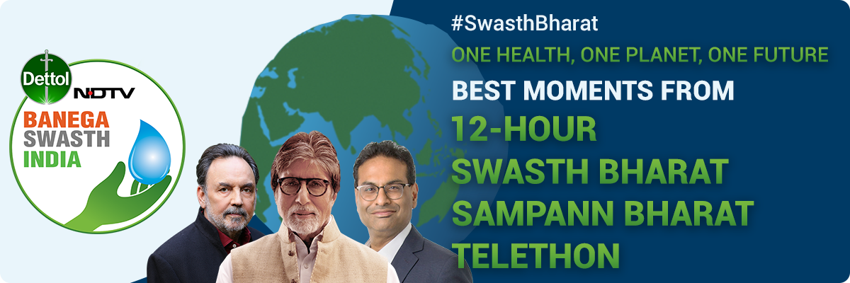 NDTV-Dettol Banega Swasth Swachh India