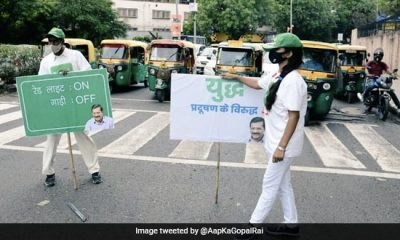 'Red Light On, Gaadi Off', Delhi Government's Month-Long Campaign To Reduce Vehicular Emissions