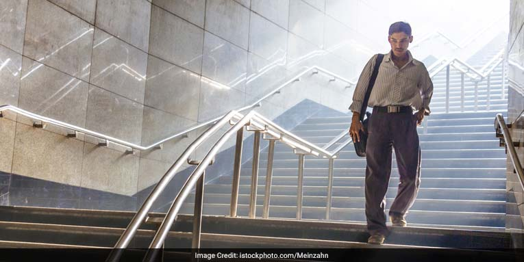 Walking up or down the stairs for 10 minutes makes people more energised than coffee