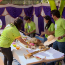 In Pics: Green Challengers Setting Up Millet Mela